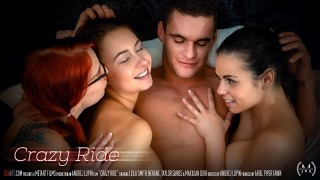 Leila Smith, Nekane & Taylor Sands – Crazy Ride