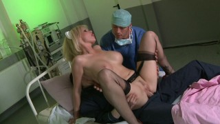 Tarra White – Nurse Tarra White banged in DP at the hospital