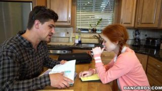 Dolly Little – Post Class Seduction By A Red Head