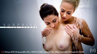 Jimena Lago & Nathaly Cherie – Surprise In The Shower