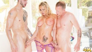 Jesse – Gets Oiled Down and Torn Up By Jules Jordan and Chris Strokes