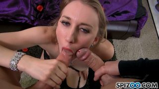 Riley Reyes – First Double BJ