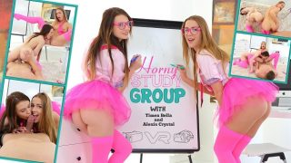Alexis Crystal & Timea Bella – Horny Study Group