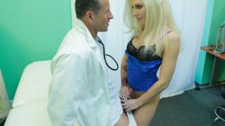 Vanessa Sweet – Tattooed Blonde Loves Doctor's Dick