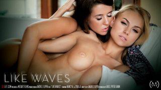 Nancy A & Sybil A – Like Waves