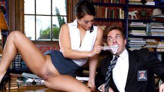 Eva Lovia – The Headmistress
