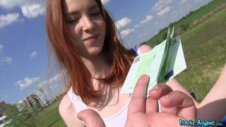 Redly – Redhead Student Fucked on a Hill