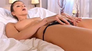 Gina Gerson – G-Spot Experimentation – Teen Probes Pussy In Dorm Room