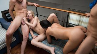Sicilia & Alexa Tomas – Hardcore cuckolding foursome with hot Spanish and Hungarian wives
