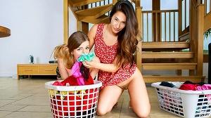 Eva Lovia & Stella Cox – Eva's Dirty Laundry