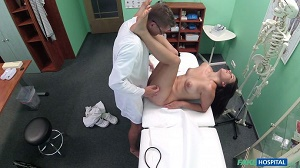 Cindy Loarn – Doctor Examines Patient with Cock