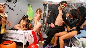 Sophia Leone, Michelle Martinez & Joseline Kelly – Halloween Dress Down