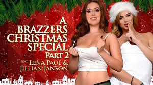 Jillian Janson & Lena Paul – A Brazzers Christmas Special: Part 2