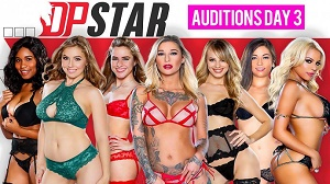 Jenna J Foxx, Jillian Janson, Kleio Valentien, Luna Star & Shane Blair – DP Star 3 Audition Episode 3