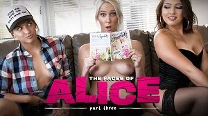 Sara Luvv & Cadence Lux – The Faces Of Alice Part Three