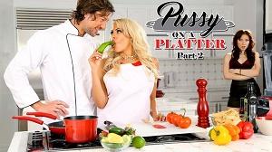 Aria Alexander & Luna Star – Pussy On A Platter Part 2