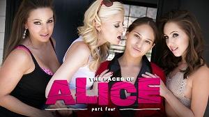 Sara Luvv, Serena Blair, Abigail Mac, Charlotte Stokely & Jenna Sativa – The Faces Of Alice Part Four