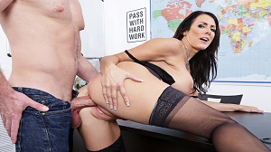 Reagan Foxx – My First Sex Teacher