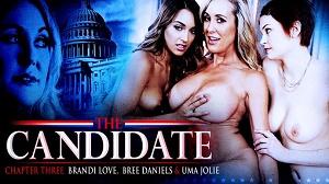 Brandi Love, Bree Daniels & Uma Jolie – Three way Lesbians!