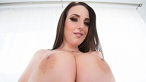 Angela White – Angela White Shows Off Her Big Natural 42G Tits, This Aussie Gets A Cock In Her Outback!