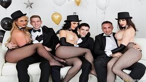 Kristina Rose, Phoenix Marie & Chanel Preston – Brazzers New Years Eve Party