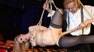 Mary O. – Intense bondage and domination with obedient German slave Mary O. PT 1