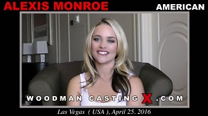 Alexis Monroe – Hard – DP with 2 men in a class hotel