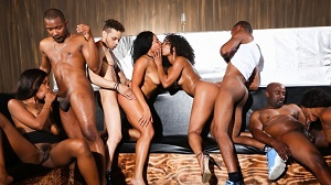 Misty Stone, Chanell Heart, Jezabel Vessir & Quinn Quest – Black Kings And Queens