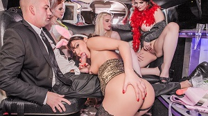 Carly Rae, Ella Hughes, Lucia Love & Suzy Rainbow – Orgy in the Limousine