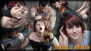 Stephie Staar – Stephie Staar slips into Sub Space pretty fast and takes a brutal face and pussy pounding!