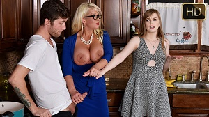 Dolly Leigh & Allura Jensen – My Step Daughter's Boyfriend