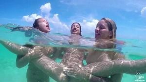 Kissa Sins, Morgan Lee & Veronica Rodriguez – Sins Life: Mexico – Episode 8: Beach Foreplay