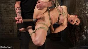 Gabriella Paltrova – Super Slut is Subjected to Brutal Torment and Bondage!