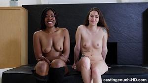 Keisha & Scarlett – Casting Couch-HD