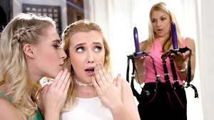 Samantha Rone, Cadence Lux & Sarah Vandella – We DP'd Mom