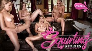 Zoey Monroe, Luna Star, Natalia Starr & Lena Paul – Squirting Stories Volume Two: Squirt Bukkake