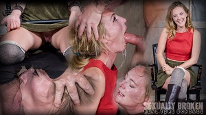 Mona Wales – Mona Wales BaRS Part 1: The warm up, bound down in hard metal and face fucked into subspace!