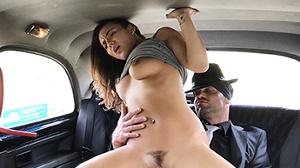 Vanessa Decker – Nurse in Sexy Lingerie has Car Sex