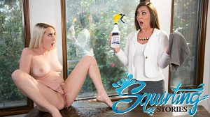 Maddy O'Reilly & Cadence Lux – Squirting Stories Volume Two: Mopping Up