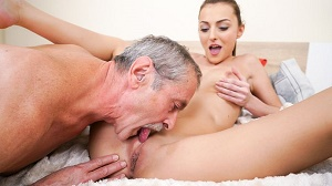 Katy Rose – Old Cock Meets Young Pussy