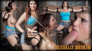 Syren De Mer – Syren De Mer experiences her most brutal sex scene ever. Neck bound, face fucked on a sybian!