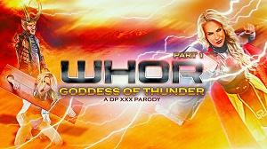 Phoenix Marie – Whor: Godess of Thunder, A DP XXX Parody Part 1