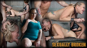 Angel Allwood & Dee Williams – Angel Allwood is brutally fucked while completely bound and helpless, deep throated and abused!