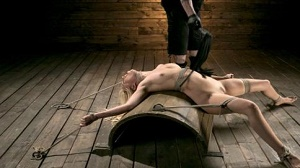 Lyra Law – Sexy Blonde Mistress Submits to Rope Bondage and Suffering
