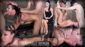 India Summer – India Summer's Recorded Live feed from May: Brutal bondage, fucking and deepthroating!