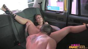 Ava Austen – Big Sticky Facial After Hot Cab Sex