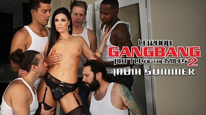India Summer – MILF Next-Door India's DP Gang Bang