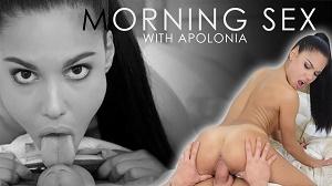 Apolonia – Fresh sperm for breakfast