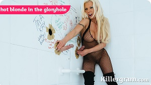 Barbie Sins – Hot Blonde In The Glory Hole