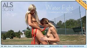Kate Sin & Lola – Water Fight